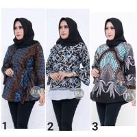 Baju Batik Wanita 1 Atasan Batik Wanita Blouse Batik Wanita Terbaru
