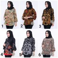 Baju Batik Wanita 3 Atasan Batik Wanita Blouse Batik Wanita Terbaru