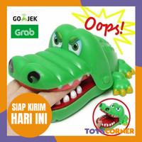 crocodile dentist bite the hand Mainan Buaya Mengigit