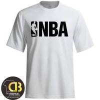 Kaos Baju Distro Pria Wanita T-Shirt Premium Round Neck NBA 114A