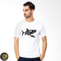 T-Shirt Premium Kaos Baju Distro Pria Wanita Round Neck 88A