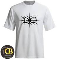 T-Shirt Premium Kaos Baju Distro Pria Wanita Round neck DG 101A