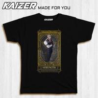 KAIZER TD-0031 Kaos KING'S RAID TAROT Strength Ricardo - GAME - Hitam, M