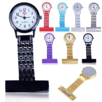 Inner Stainless Steel Arabic Numerals Nurse Watch Colorful Doctor