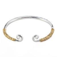 Inner Silver Plated Adjustable Jingubang Wristband Monkey King