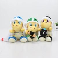 "PROMO 3pcs/set Super Mario Bros Plush 8"" Koopa Troopa Hammer Bomb"