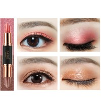 Inner 6 Colors Double Head Eye Shadow Stick Highlight Glitter