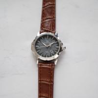 Christyan Arden Original Leather CAP003A Brown - Black Dial (Wanita)