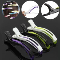 Inner 6pcs Alligator Sectioning Hair Clips Separate Haircut Grip