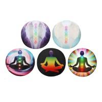 Inner Putaran Gaya Dekorasi Mat Yoga Meditasi Rumah Kamar Tidur