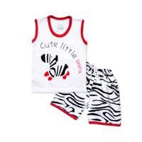 WakaKids Baju Anak Laki Laki Singlet Kaos Zebra 3122