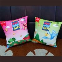 READY STOK!!! Bantal Snack Tini Wini Biti 35x35 Un Official