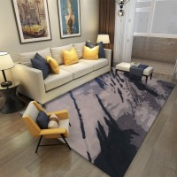 Karpet Handtuft Premium Wool Mewah dan Modern D009 Gray 200x300 cm