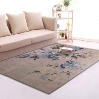 Karpet Handtuft Premium Wool Mewah dan Modern D004 Gray 200x300 cm