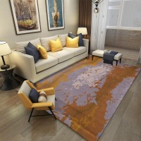 Karpet Handtuft Premium Wool Mewah dan Modern D002 Gray 200x300 cm