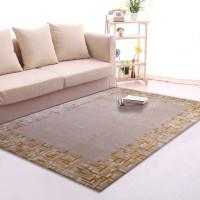 Karpet Handtuft Premium Wool Mewah dan Modern D014 Beige 200x300 cm