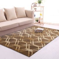 Karpet Handtuft Premium Wool Mewah dan Modern D013 Brown 200x300 cm