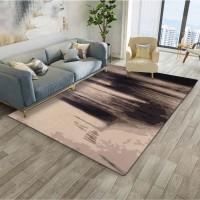 Karpet Handtuft Premium Wool Mewah dan Modern D001 Brown 200x300 cm