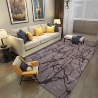 Karpet Handtuft Premium Wool Mewah dan Modern D010 Brown 200 x 300 cm