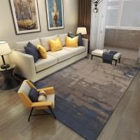 Karpet Handtuft Premium Wool Mewah dan Modern D017 Blue 200x300 cm
