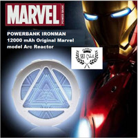 Power Bank Arc Reactor Iron man Marvel Original 12000 mAh Powerbank