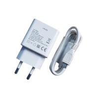TRAVEL CHARGER VIVO 2A - BK0720 COLOKAN INDO - MICRO USB ORIGINAL 99%