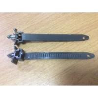 Plastik Pengikat Kabel / Pipa Klip Panah Insulock To Body ( Grey )