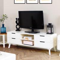 Helsinky TV Cabinet 1400 - Ivory