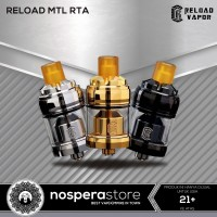 Reload MTL RTA 22mm - Authentic Reload Vapor