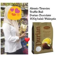 Alessio Tiramisu Durian Truffle Ball Chocolate 300g