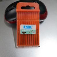 Mata Bor LYK 0.8mm Mini Drill isi 10 pcs (Gold)