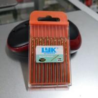Mata Bor LYK 2mm Mini Drill isi 10 pcs (Gold)