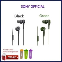Sony In-Ear Extra Bass Headphone MDR-XB75AP / XB 75AP - earphone - Black