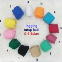 leging bayi cotton rich polos warna ukuran 0-6 bulan dan 6-12 bulan