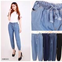 Terlaris Celana Jogger Panjang Jeans Denim Modis trendy Wanita JSK Ori