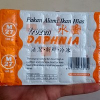 Kutu Air Beku / Frozen Dhapia Magna makanan ikan
