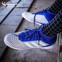 Sepatu Futsal Adidas Predator Tango 19.3 IN Grey/White/Bold Blue Origi
