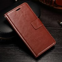 PROMO!!! Samsung J2 Pro 2018 leather case casing kulit retro FLIP