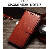 HOT SALE Flip cover wallet case Xiaomi Redmi Note 7 casing leather