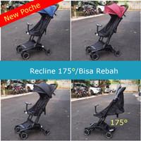 Stroller Pockit Eclaire Poche Recline 175