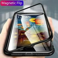 Case Magnet Samsung C9 Pro Cover Metal Aluminium 2in1 Anti Baret