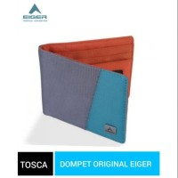 Dompet Eiger Equator Line Wallet - grey tosca