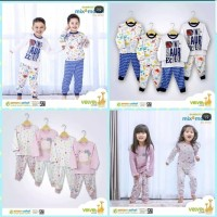 VELVET JUNIOR Piyama Bamboo Cotton Mix & Match 4 Tahun 5 Tahun