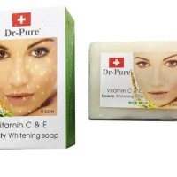 DISKON!!! Rice Milk Soap DR PURE / Dr Pure Sabun Beras PROMO!!!