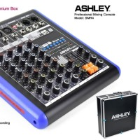 MIXER AUDIO ASHLEY SMR 4 SMR4 4 CHANNEL USB BLUETOOTH RECORDING