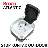 BROCO ATLANTIC STOP KONTAK OUTDOOR stopkontak outbow IP44 OB type 2151