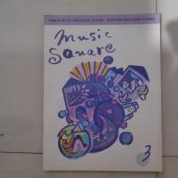 BUKU MUSIC SQUARE 3 ELECTONE COURSE