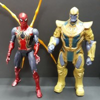 SPIDERMAN THANOS Action Figure Avengers Iron Spider