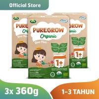 Paket 3 Box PUREGROW Organic - Susu Formula Organik 1-3 thn 360gr Girl