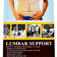 Korset Tulang Belakang Lumbar Sacro Breathable Back Support Dr.Ortho